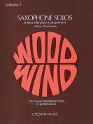 Tenor Saxophone Solos: v. 1