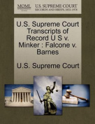 U.S. Supreme Court Transcripts of Record U S V. Minker