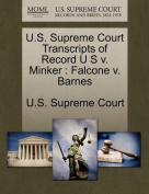 U.S. Supreme Court Transcripts of Record U S V. Minker