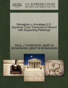 Monaghan V. Armatage U.S. Supreme Court Transcript of Record with Supporting Pleadings