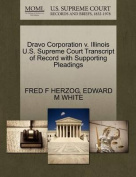 Dravo Corporation V. Illinois U.S. Supreme Court Transcript of Record with Supporting Pleadings