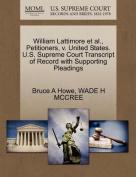 William Lattimore et al., Petitioners, V. United States. U.S. Supreme Court Transcript of Record with Supporting Pleadings