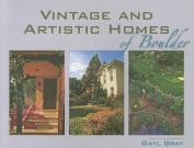 Vintage and Artistic Homes of Boulder