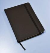 Monsieur Notebook Leather Journal - Black Plain Medium A5