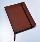 Monsieur Notebook Leather Journal - Brown Plain Medium A5