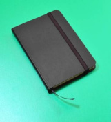 Monsieur Notebook Leather Journal - Black Sketch Small A6