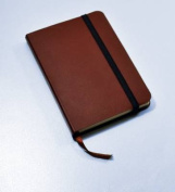 Monsieur Notebook Leather Journal - Brown Plain Small A6
