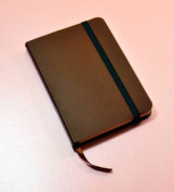 Monsieur Notebook Leather Journal - Brown Ruled Small A6
