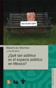 Que Tan Publico Es El Espacio Publico En Mexico? [Spanish]