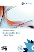Seliwanoff's Test