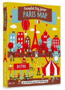 Junior Paris Crumpled City Map