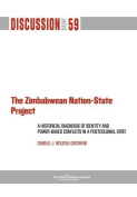 The Zimbabwean Nation-State Project. A Historical Diagnosis of Identity