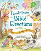 Five-Minute Bible Devotions for Children
