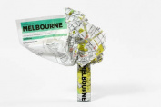 Melbourne (Crumpled City Map)