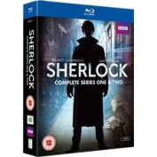 Sherlock: Series 1 and 2 [Region 2] [Blu-ray]