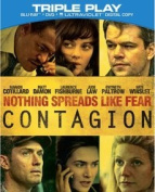 Contagion (Combo Pack) Blu-ray / DVD / Digital Copy [2 Discs] [Blu-ray]