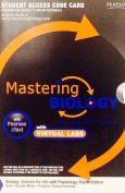 MasteringBiology with Pearson eText with MasteringBiology Virtual Lab Full Suite - Valuepack Access Card - for Biology