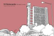 Brutalist London: 16 Notecards