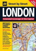 AA London Street by Street Map
