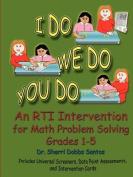I DO WE DO YOU DO Math Problem Solving Grades 1-5 PERFECT