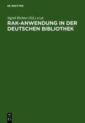 Rak-Anwendung in Der Deutschen Bibliothek [GER]