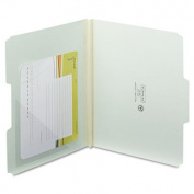 Self-Adhesive Poly Corner Pockets, Clear, 6x6, 100/Box