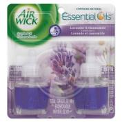 Scented Oil Refill, Lavender & Chamomile, .67oz, 2/Pack