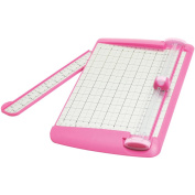"TrimAir Titanium Rotary Paper Trimmer, Wide Base, 12"", Pink"