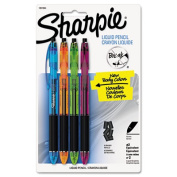 Liquid Mechanical Pencil, 0.5 mm, Fashion Color Barrels, 4/Pk