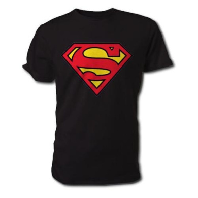 Superman Men's Logo T-Shirt (Black)