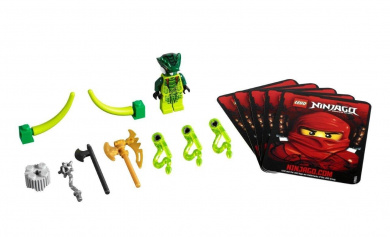 LEGO NINJAGO (Spinners) 9557 Lizaru