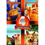 Garfield/Garfield 2/Far from Home/Because of Winn Dixie [Region 2]