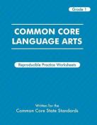 Common Core Language Arts Grade 1