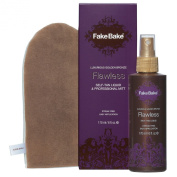 Flawless Self-Tan Liquid & Professional Mitt, 170ml/6oz