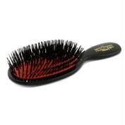 Boar Bristle - Pocket Sensitive Pure Bristle Hair Brush ( Dark Ruby ), 1pc