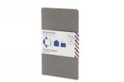 Moleskine Postal Notebook - Pocket Pebble Gray