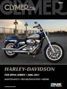 Clymer Harley-Davidson FXD Dyna Series 2006-2011 [With CDROM]