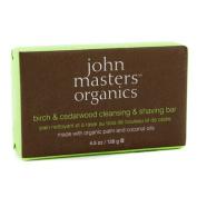 Birch & Cedarwood Cleansing & Shaving Bar, 128g/130ml