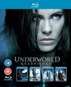 Underworld 1-4 [Region 2] [Blu-ray]