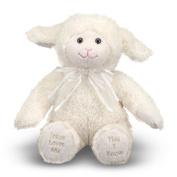 Jesus Loves Me Lamb