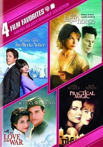 Sandra Bullock Romance Collection: 4 Film Favorites [Region 1] - DVD - New - Fre