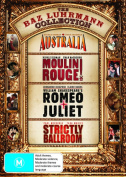 Australia / Moulin Rouge / Romeo and Juliet (1996) / Strictly Ballroom (Baz Luhrmann Collection)  [4 Discs] [Region 4]