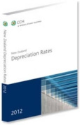 New Zealand Depreciation Rates 2012