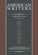 American Writers, Supplement XXIII
