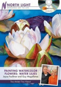 Painting Watercolor Flowers - Water Lilies