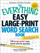 The Everything Easy Large-Print Word Search Book, Volume 2 [Large Print]