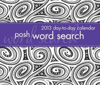 Posh: Word Search 2013 Day-To-Day Calendar