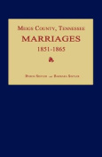 Meigs County, Tennessee, Marriages 1851-1865
