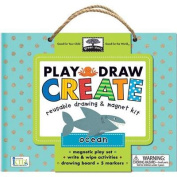 Play, Draw, Create Reuseable Drawing & Magnet Kit