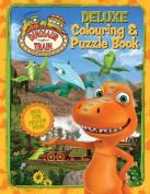 Dinosaur Train Deluxe Colouring Book